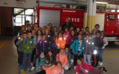 Obisk pri gasilcih