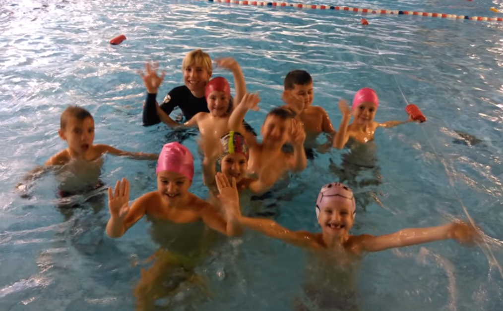 Plavalni tečaj v 1. in 2. razredu
